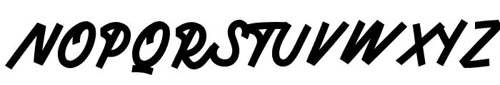 Monserta Script Regular Font UPPERCASE