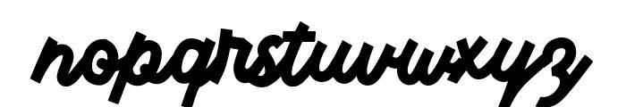 Monserta Script Regular Font LOWERCASE
