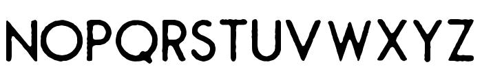 Montharo-Edge Font UPPERCASE