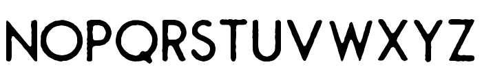 Montharo-Edge Font LOWERCASE