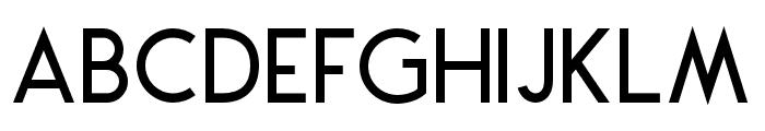 Montharo-Regular Font UPPERCASE