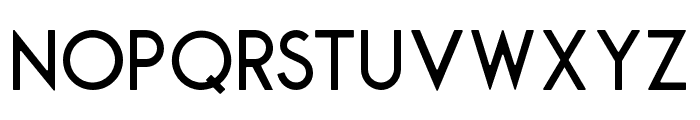 Montharo-Round Font UPPERCASE