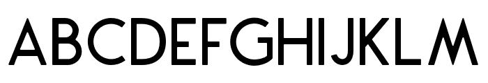 Montharo-Round Font LOWERCASE