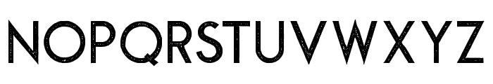Montharo-Stamp Font UPPERCASE