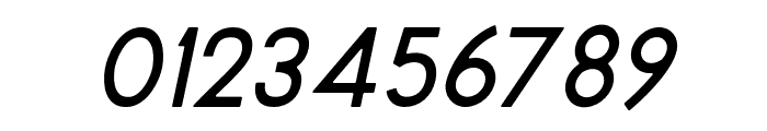 MontharoRound-Italic Font OTHER CHARS