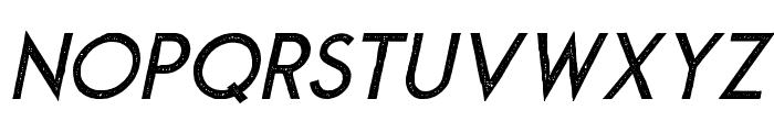 MontharoStamp-Italic Font LOWERCASE