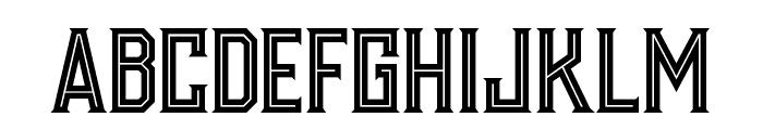 Murray inline Font UPPERCASE