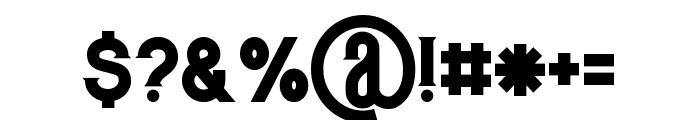 Murray regular Font OTHER CHARS