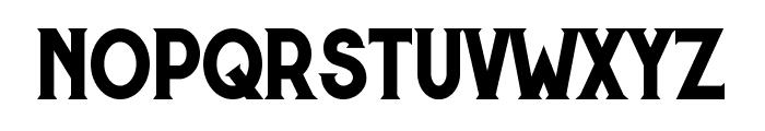 Murray regular Font LOWERCASE