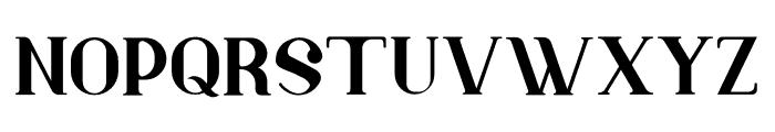 Murray Font UPPERCASE