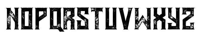 MurrayGrunge Font UPPERCASE