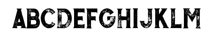 MurrayGrunge Font LOWERCASE