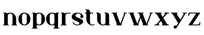 Murray Font LOWERCASE