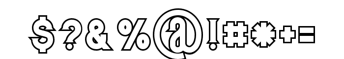 Murrayoutline Font OTHER CHARS