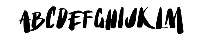 No Mercy Font UPPERCASE