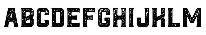 Northwest Textured Font LOWERCASE