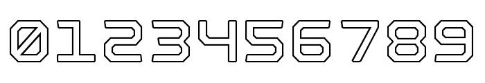 Nostromo Outline Bold Font OTHER CHARS