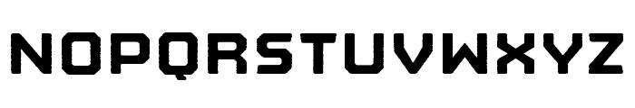 Nostromo Rough Black Font UPPERCASE