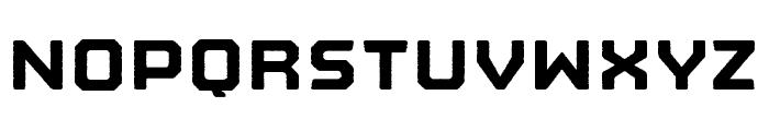 Nostromo Rough Black Font LOWERCASE