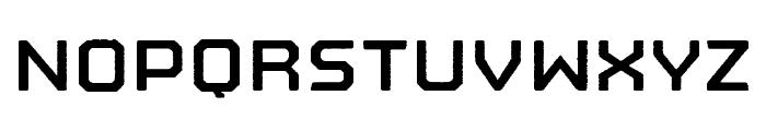 Nostromo Rough Bold Font LOWERCASE