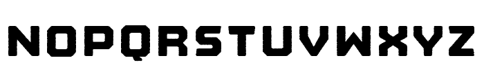Nostromo Rough Heavy Font LOWERCASE