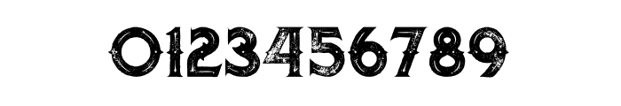 Octopus Inline Grunge Font OTHER CHARS