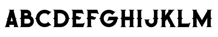 Octopus Regular Font LOWERCASE