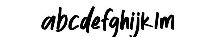 Olgalid Font LOWERCASE