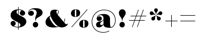 Olivia Regular Font OTHER CHARS