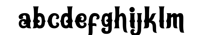 Oracles bold Bold Font LOWERCASE