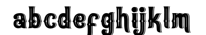 Oracles Font LOWERCASE