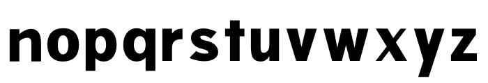 POINTY Font LOWERCASE