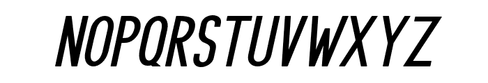 PRUISTINSANSIt-Italic Font UPPERCASE