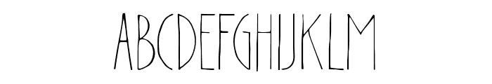Paintline Font UPPERCASE