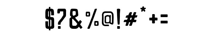 Pamere Sans Regular Font OTHER CHARS