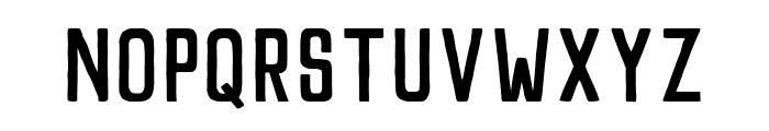 Pamere Sans Regular Font UPPERCASE