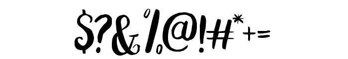 Peomy Regular Font OTHER CHARS