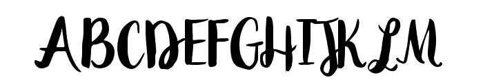 Peomy Regular Font UPPERCASE
