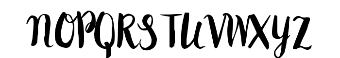 Peomy Regular Font LOWERCASE