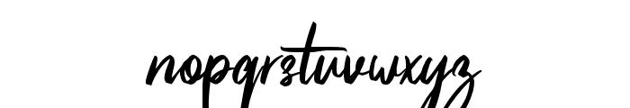 Pinkalova Font LOWERCASE