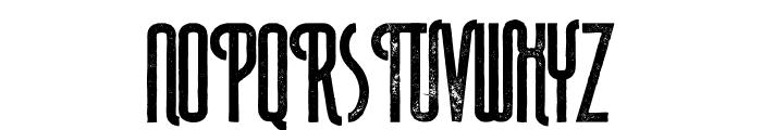 Plasma Bold Grunge Font UPPERCASE