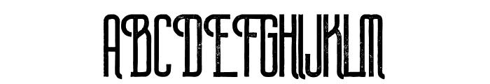 Plasma Grunge Font UPPERCASE