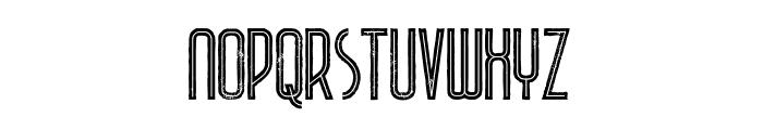 Plasma Inline Grunge Font LOWERCASE