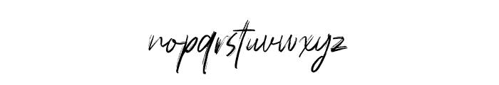 Polandic Font LOWERCASE