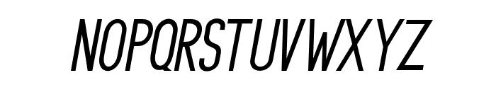 PrincellaSansSlant-Italic Font UPPERCASE