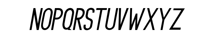PrincellaSansSlant-Italic Font LOWERCASE