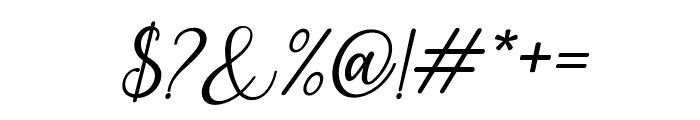 PruistinScriptIt Font OTHER CHARS