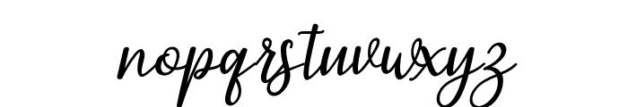 PruistinScriptIt Font LOWERCASE