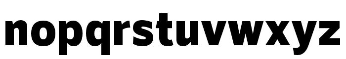 RNSSanz-Black Font LOWERCASE