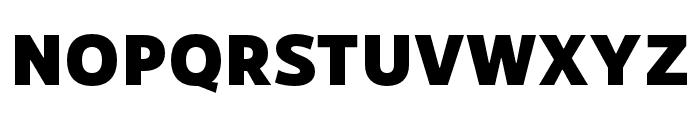 RNSSanzSC-Black Font UPPERCASE